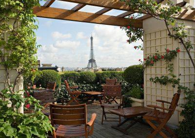 Paris – Terrasse Raphael – 120 personnes