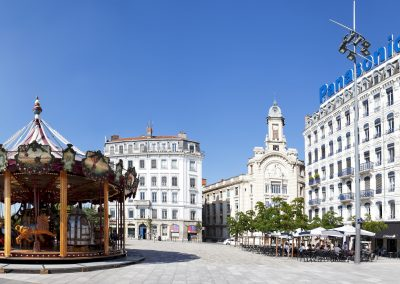 Lyon – Place Antonin Jutard