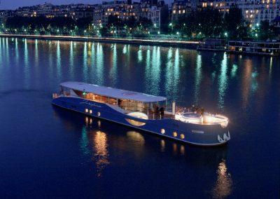 Paris – Yacht Joséphine – 60 personnes